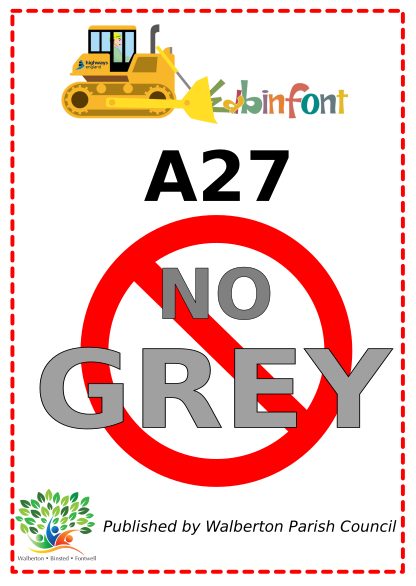 No to Grey poster